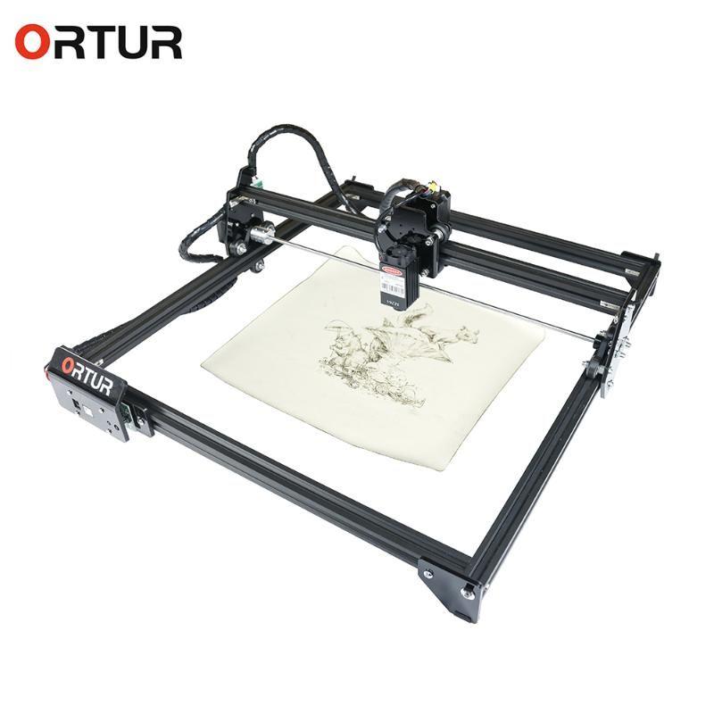 Ortur 레이저 마스터 2-20W 15W 7W 32 비트 메인 보드의 USB 레이저 조각사 데스크탑 DIY 로고 마크 프린터 카버 조각 기계