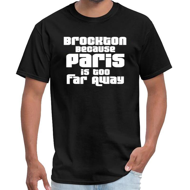 Debido a que el diseñador Brockton París está demasiado lejos saucezhan hombres de la camiseta y mujeres de distanciamiento social camiseta XXXL 4XL 5XL tapa del estallido del te