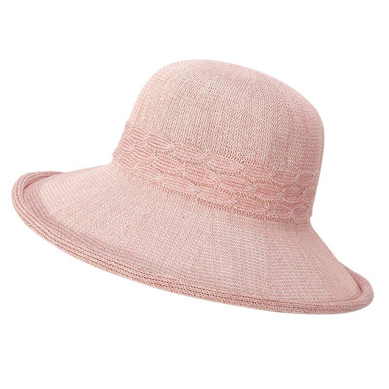 La Sra primavera y el verano Sun sombrero al aire libre del viaje Sombrero de sol de moda