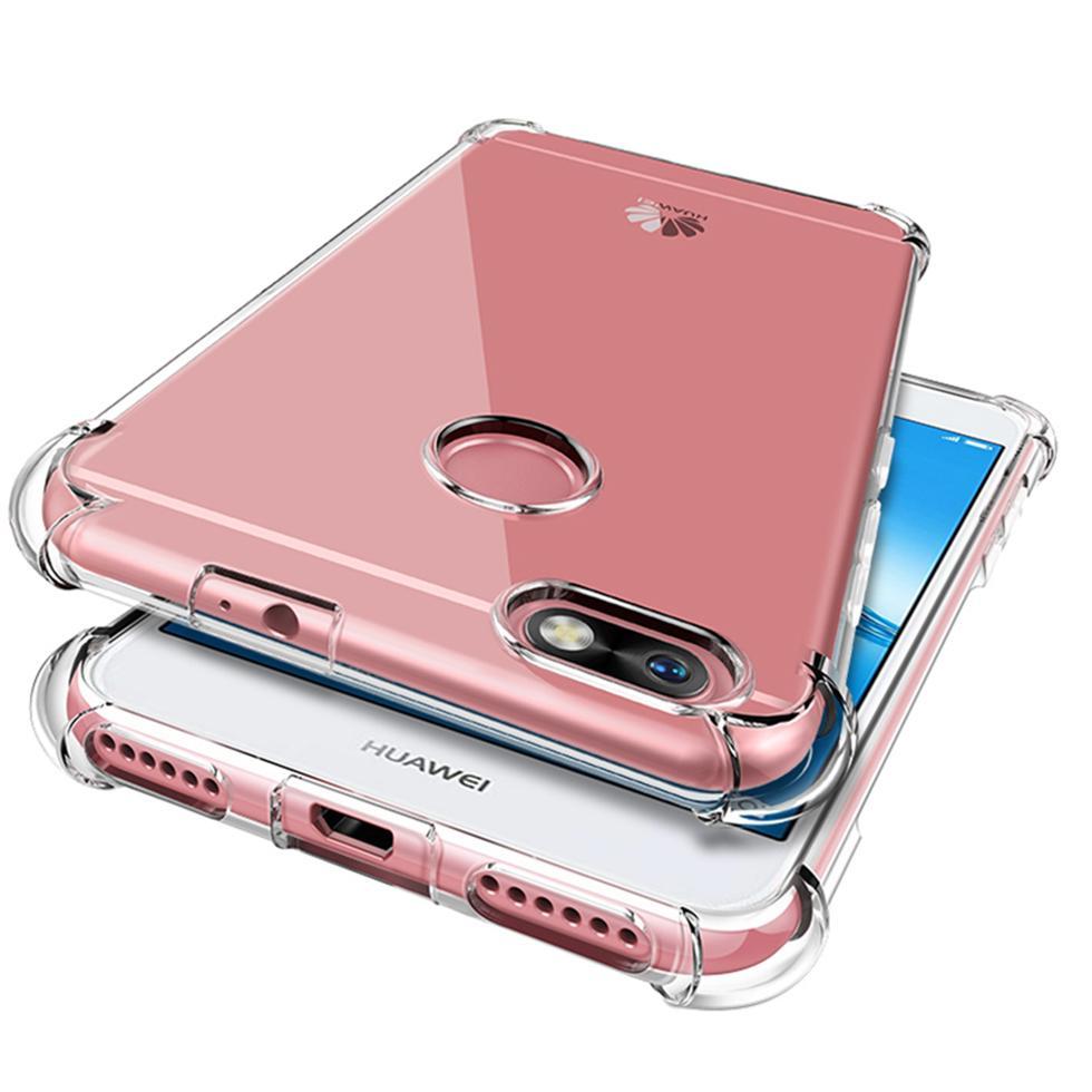 Luxus Klares Silikon-weiche Coque Für P20 Lite Fall P9 P10 P30 Pro Gehäuse Mate-10 Lite Etui 20 Auto Phone Cover-Rückseite