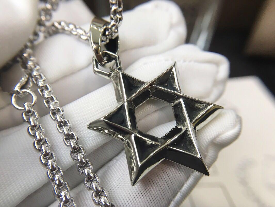 catena del maglione della collana di modo della Sei-stella per mens signora di disegno e partito delle donne amanti regalo di nozze di lusso gioielli hip hop.