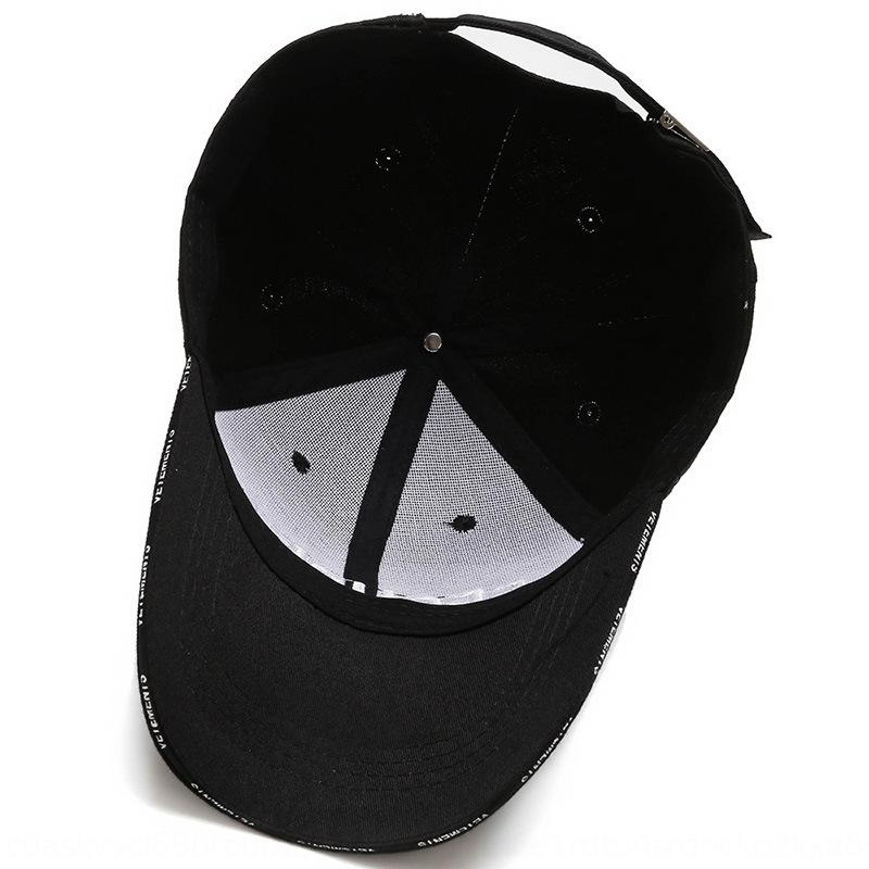 Sand Korean style casual Sunscreen baseball Helmet baseball cap embroidered SECURITE letter hat spring and summer sun protection cap