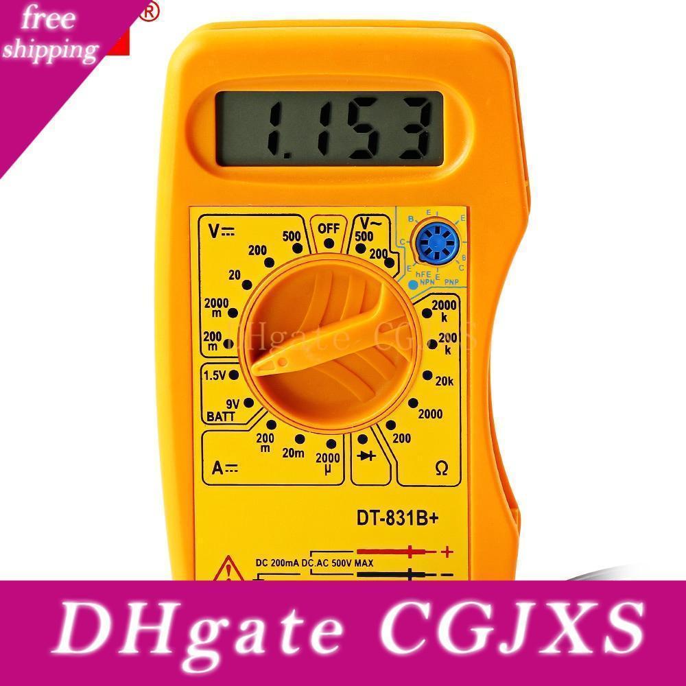 Whdz Digital-Multimeter Wechselstrom-DC-Voltmeter Tester Handheld Elektrische Geräte mit LCD-Bildschirm und Digitalanzeige Freies Verschiffen Vb