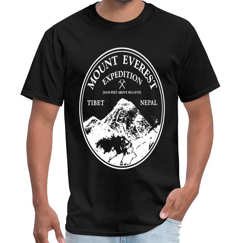 shirt da forma de Mount Everest Expedition satã t homme sik camisa de seda t grande tamanho s ~ 6XL naturais