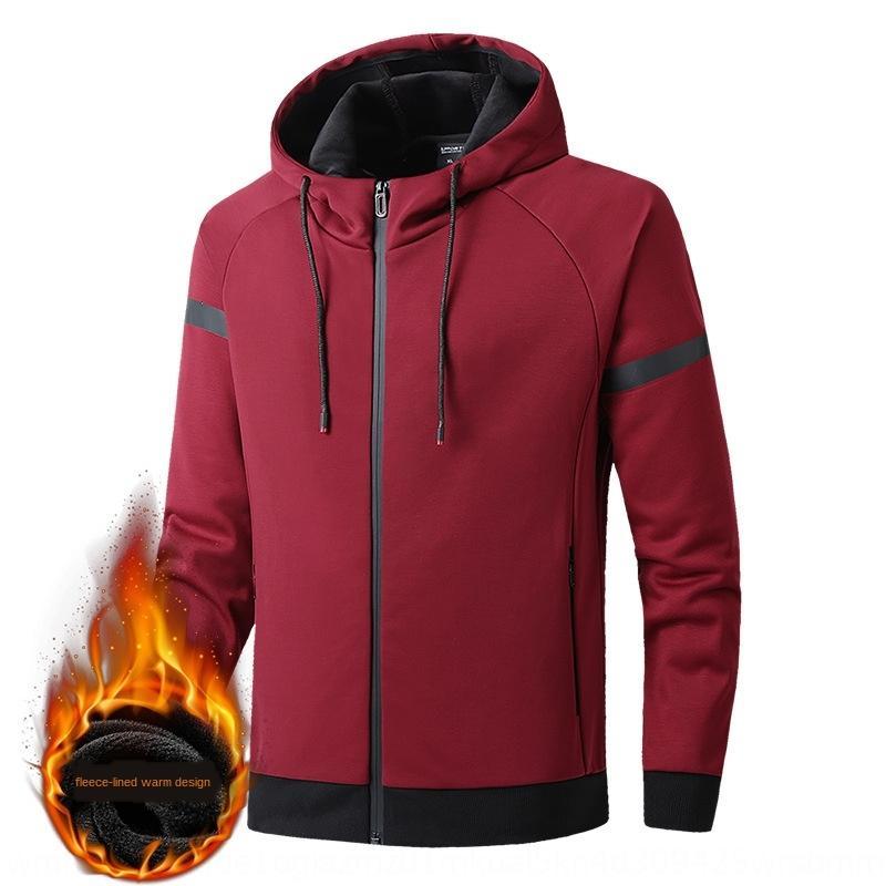 outono 9587 homens e inverno revestimento espessado acolchoado grande malha casaco revestimento elegante com capuz camisola camisola Revestimento G-8XL