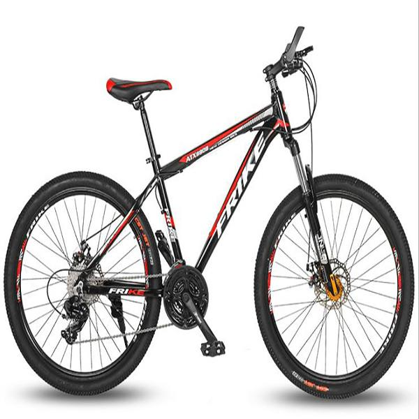 new ATK8808 26-inch aluminum alloy mountain off-road bike bicycle adult variable speed shock absorber double disc brake couple bicycle 333
