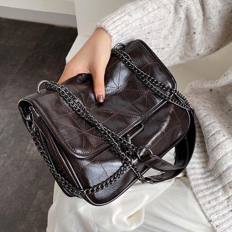 Sacs crossbody pour les femmes de grande capacité haut de gamme Sac à bandoulière étranger version coréenne du Messenger Messenger Bag