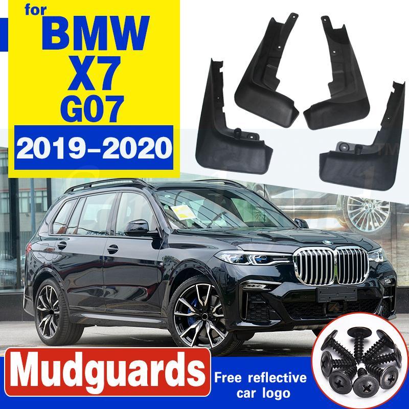 4 PCS Front Rear Car Schmutzfänger für BMW X7 G07 2019 ~ 2020 Fender Mud Schutzklappe Splash Flaps Radschützer Zubehör