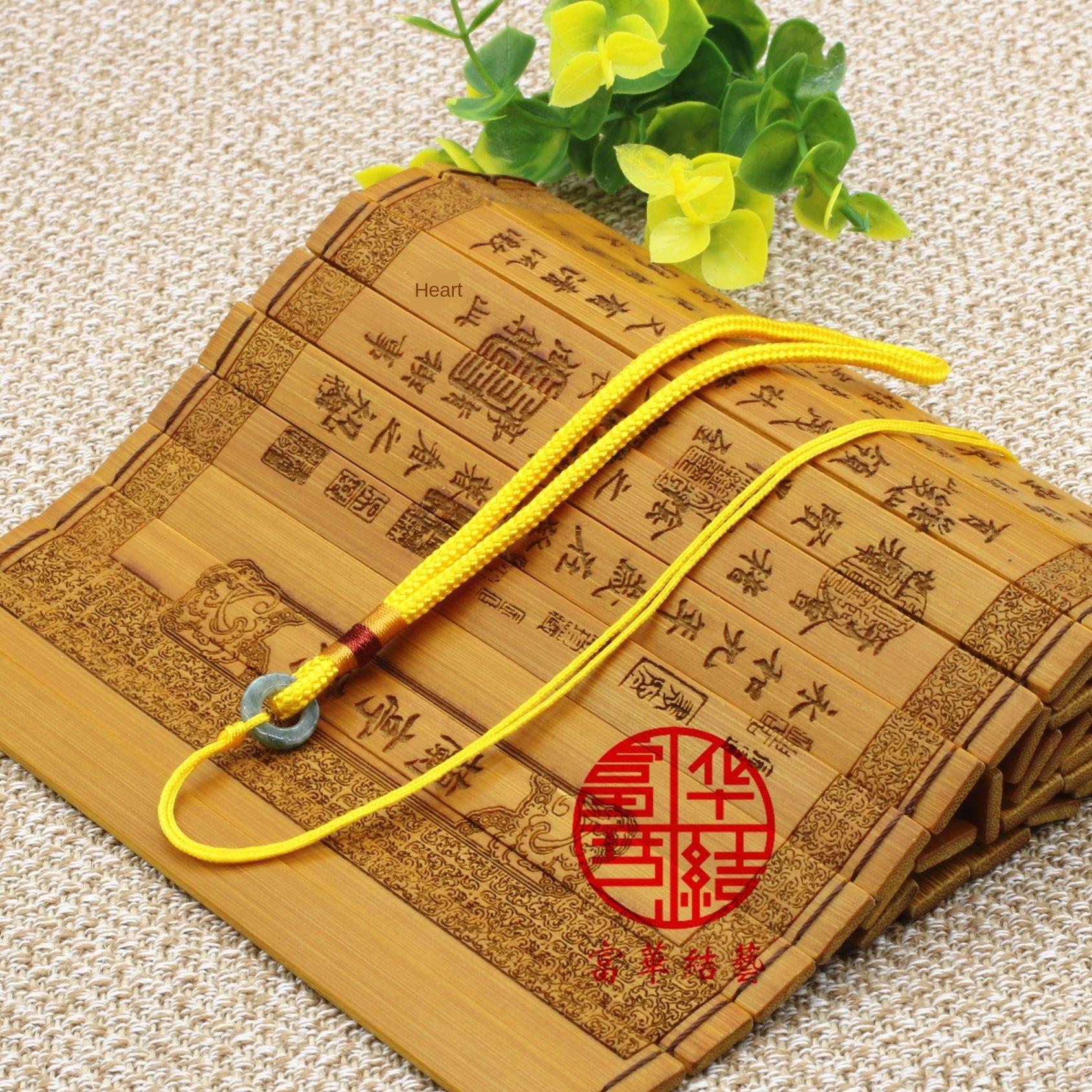 Neue Armband Jade Jadewrist Stück Seil Anhänger hängenden Anhänger hängenden Seil Berufs