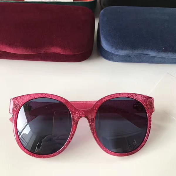 0035S Popular Sunglasses Protection Brand Women Quality 0035 Mixed Summer Style Full Frame Top Come UV Oval Color Luxury Designer With Xxde