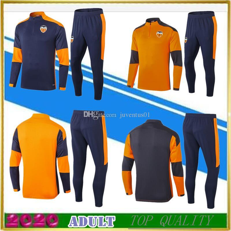 Top2020-21 Adult jacket tracksuits soccer jerseys 20 21 jacket training shirt