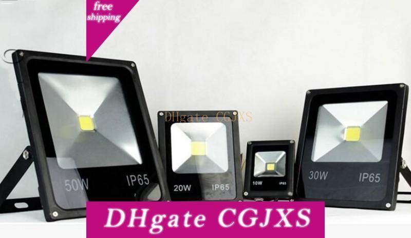 Lo nuevo 85 -265V Luminaria LED Luz 10w 20w 30w 50w Calle luz de inundación de IP65 LED Proyector LED Lámpara de envío gratuito Myy