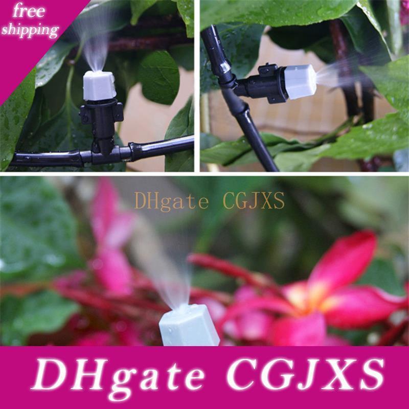 5m 10 Pulvérisateurs Jardin Diy Set Sprinkler d'arrosage Kits de refroidissement Flower Garden Irrigation arrosage Kits d'irrigation