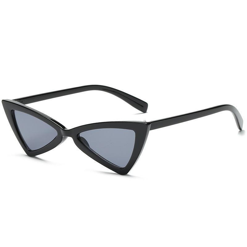 패션 삼각형 디자인은 여성의 성격 작은 프레임 선글라스 여성의 작은 얼굴에 오목 모양 선글라스 트렌드 S33 선글라스