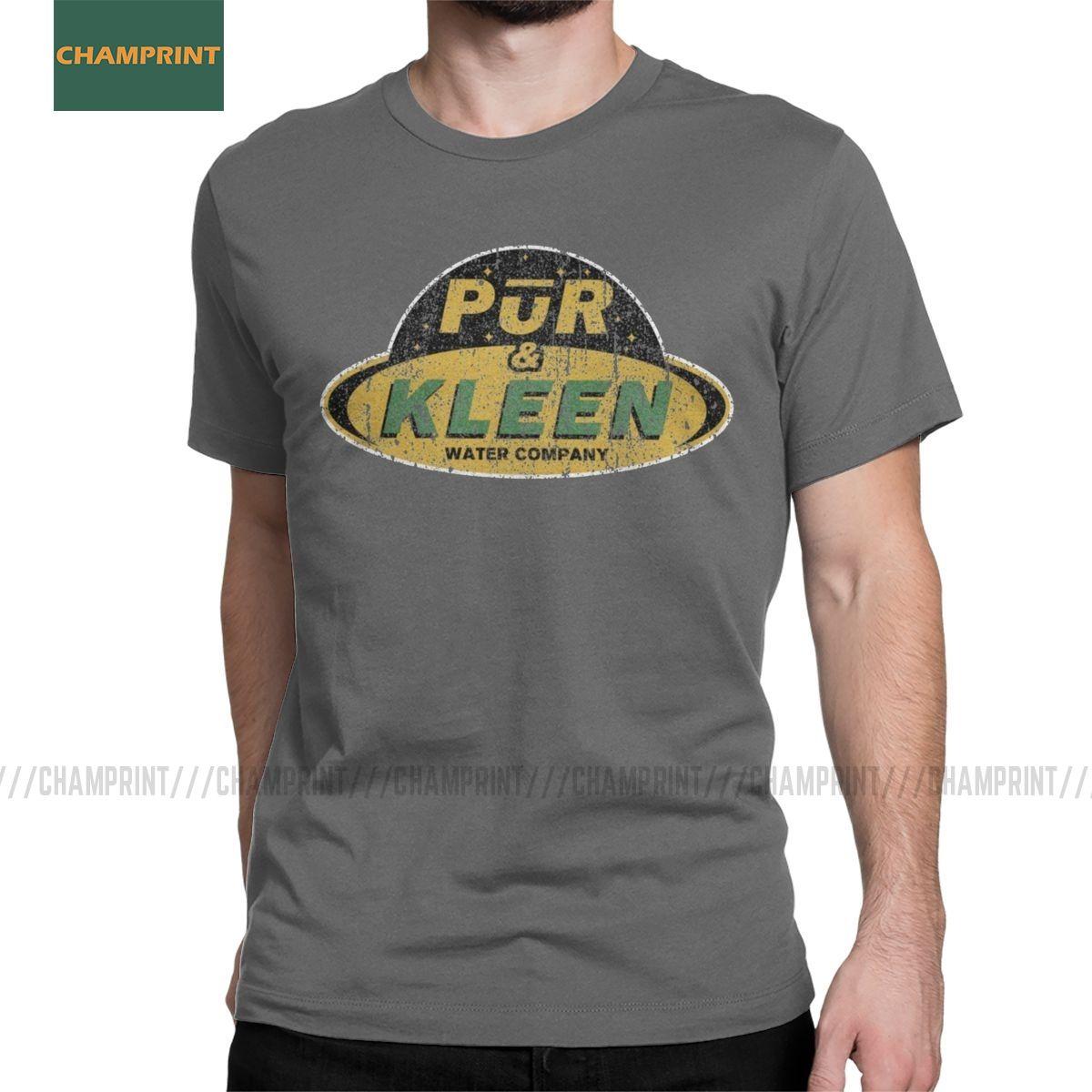 Pur Kleen Water Company Die Expanse T-Shirt für Männer MCRN Sci-Fi Science Fiction Neuheit aus reiner Baumwolle T-Shirts Kurzarm T-Shirt