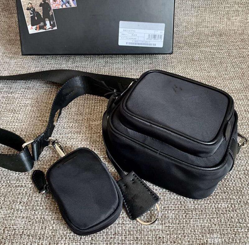 ¡¡¡Nueva llegada!!! Bolso y bolsa de la cámara del hombro Crossbody con la moneda para bolsos gratis Bolsas de envío Hombres Mujeres Nylon Purse Qsara