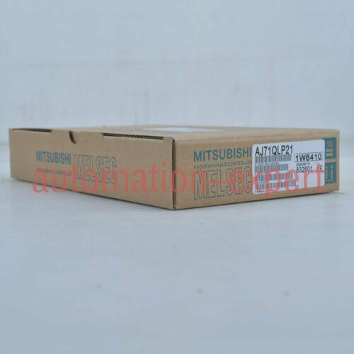 1PC NEW IN BOX MITSUBISHI Plc module AJ71QLP21 One year warranty