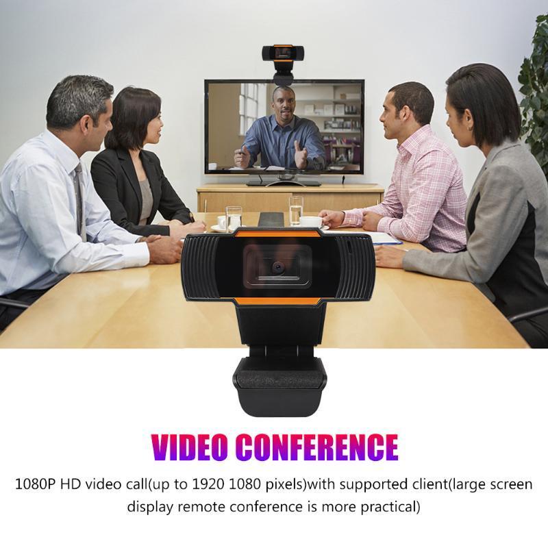 USB2.0 Plug N Play Веб-камера 1080P HD веб-камера с встроенным микрофоном для Вращающийся PC Digital Video Recorder USB для домашнего офиса
