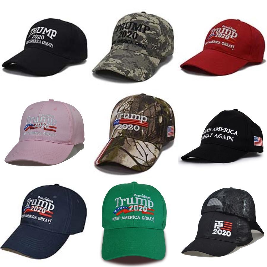 2020 béisbol para adultos Trump Cap masculino y cráneo femenino calle del Sol personalizada Pato Lengua sombrero # 916