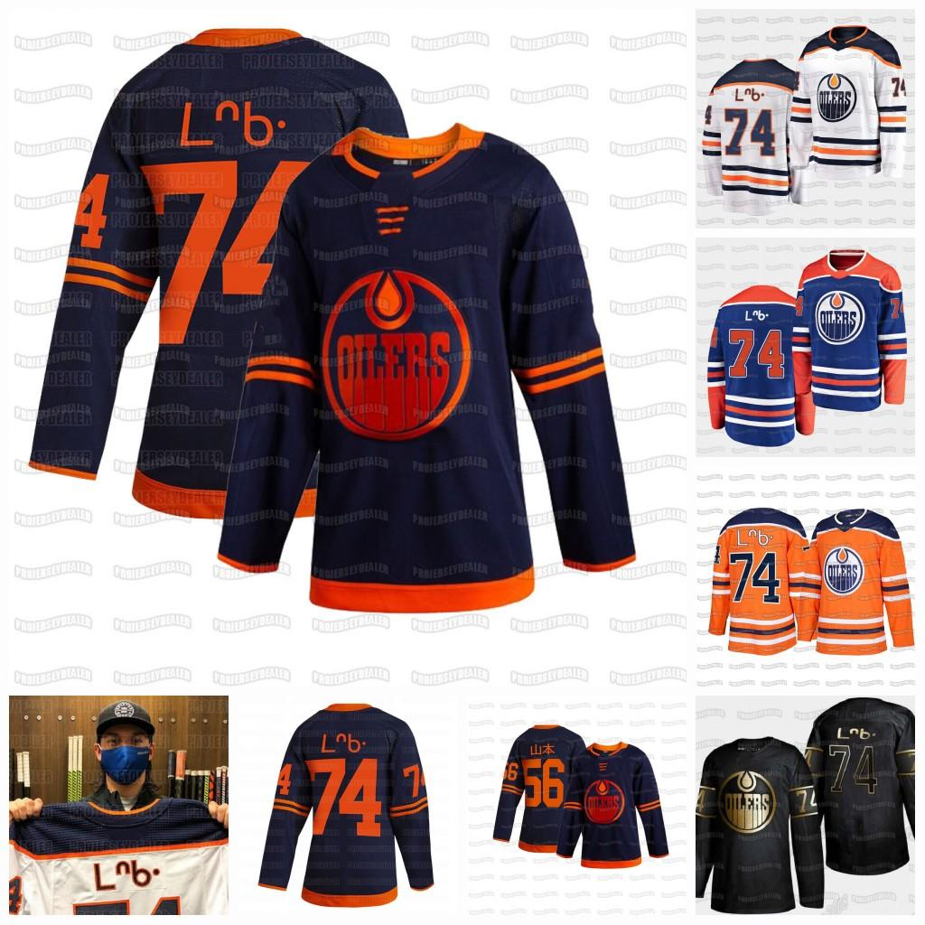 74 Ethan Bear Cree Syllabics Edmonton Oilers 2020 Honors First Nations Indigenous Heritage 56 Kailer Yamamoto Giapponese Jersey Jersey