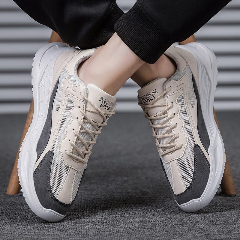 DesignerSneakerMansFootwearSneakersforMenShoesCasualFashionsummerMaleShoeLaceUpFlatsBreathable