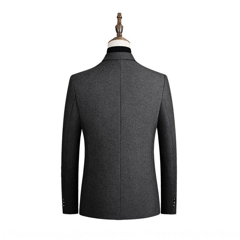 jnHZU tr erkekler ince iş Coat Yün gündelik ince uygun yün takım elbise erkek ceket tr ilkbahar ve sonbahar