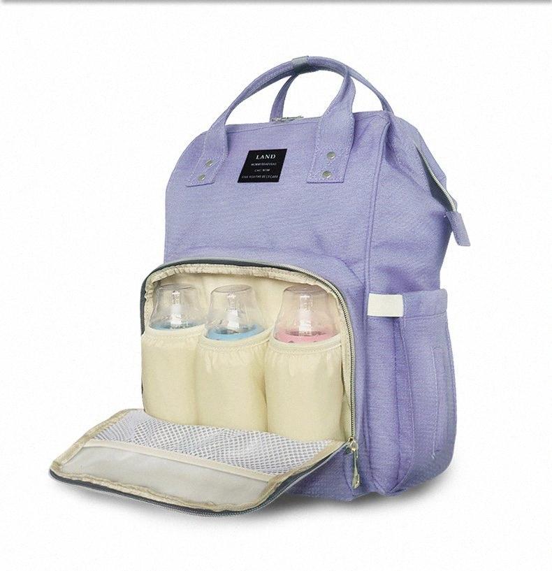 Hot hohe Qualität Oxford Große Kapazität Multifunktionsmama Rucksack Windelbeutel-Babywickeltaschen Mama Mutterschaft Tasche Babys Pflege produ JLS8 #