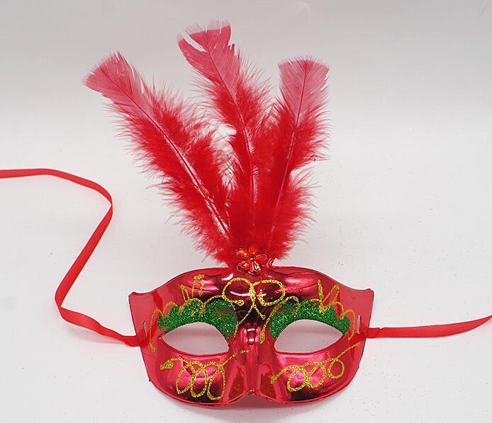 Máscara de penas de casamento máscaras do partido da máscara de Veneza mulheres máscara Lady Sexy máscaras Carnaval Mardi Gras Costume GB843