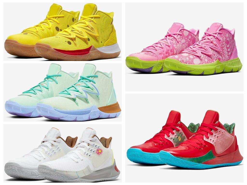Irving Halloween 2020 2020 2020 Big Boy Kids Irving 4 IV Outdoor Shoes Women Green Kyrie