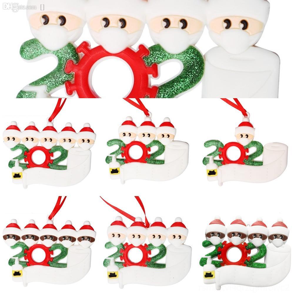 ih00F снеговика Санта висячие украшения Украшение CYZ дерево Elk медведь Рождественские украшения кулон Home Xmas партии украшения Клаус