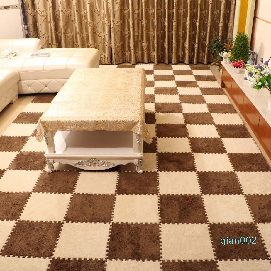Süet köpük dikiş mat ev yatak odası rahat yumuşak çocuk paspas halı yetişkin dua ve bebek emekleme mat yumuşak ve rahat mx5007