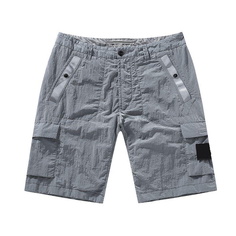 Мода-2021 новый стиль пляж быстрое лето брюк шорты шорты повседневная металлическая сушка свободный нейлон VDNXW