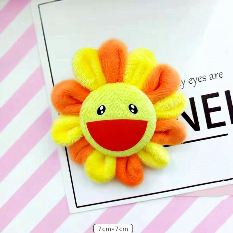 Internet célébrité tournesol mignon accessoires accessoires mode Pendentif Broche poupée en peluche petit jouet poupée SwUyP