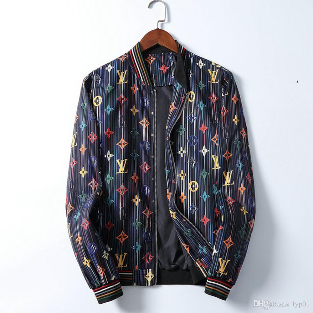 toptan L Nakış V Erkekler Ceket Coat Man Hip Hop Streetwear KAPALI Erkekler Ceket PALM Coat Bombacı Giyim MELEKLER BEYAZ ayakkabı çanta 05