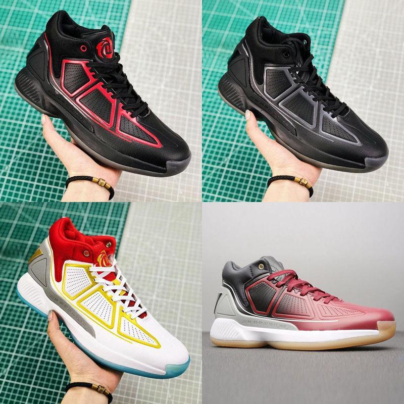 Uomini 2020 D Rose 10 10s Bambini di pallacanestro delle scarpe da tennis Derrick Rose X MVP Bounce Brown stivali alti Pattini degli addestratori
