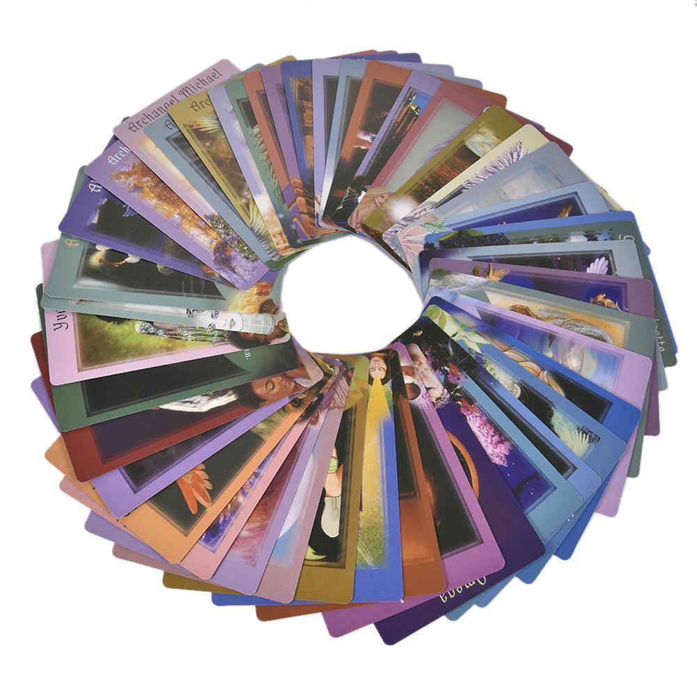 Table à vos Anges Tarot Savoir jeu ce que vous Cardmessages Anges Votre 44pcs Voulez-vous partir QJQvV mylovethome