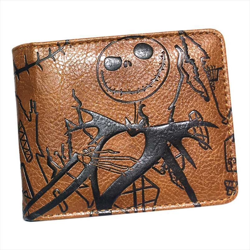 الرجال المحفظة undertale كابوس قبل عيد الميلاد المحفظة مع فتحة سحاب عملة جيب بطاقة الائتمان NEW قطرة شحن
