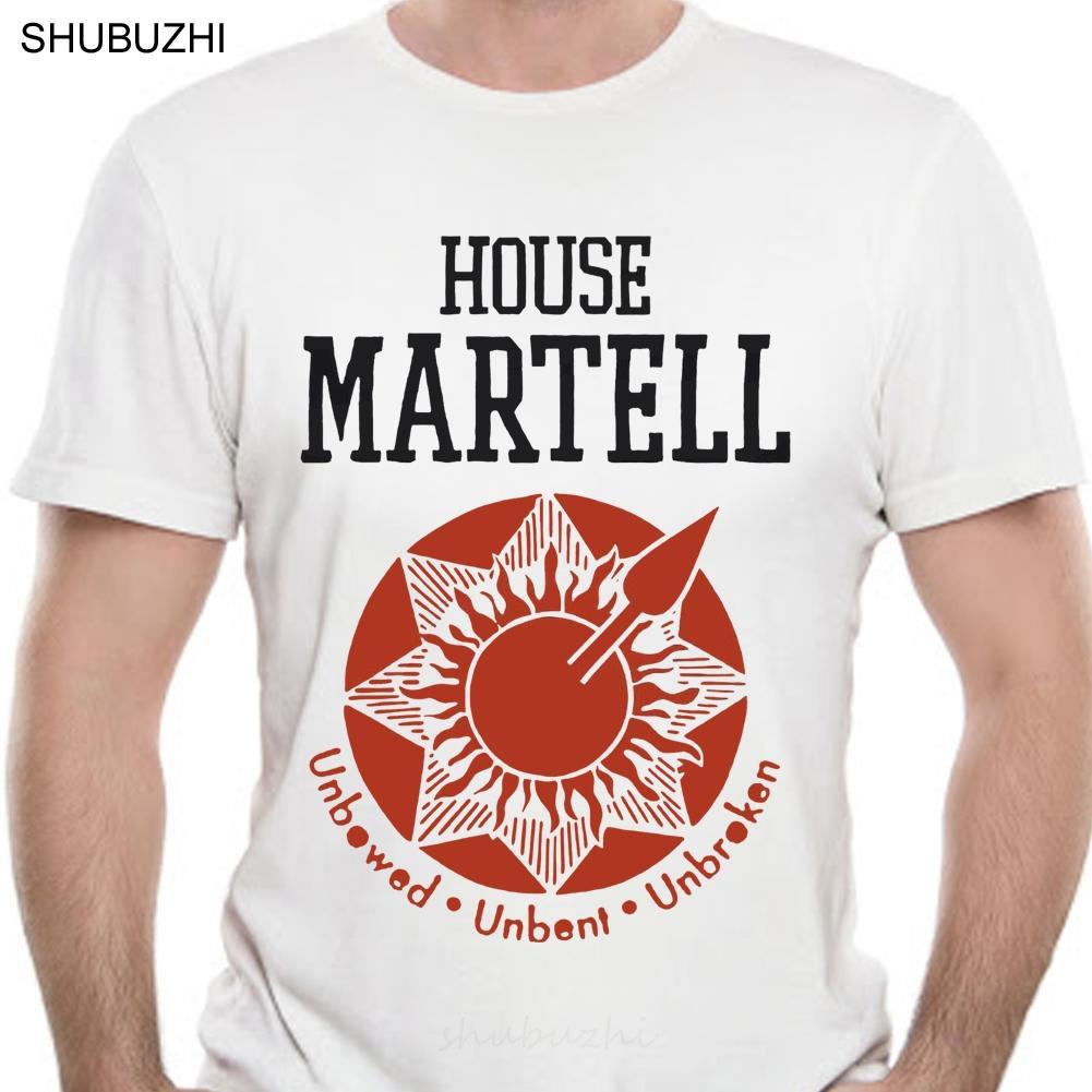 Мужчины Футболка Tee Shirt Дом Martell Желтый Tshirts Женщины T-Shirt Хлопок Tshirt Мужчины Летняя мода T-Shirt Размер евро