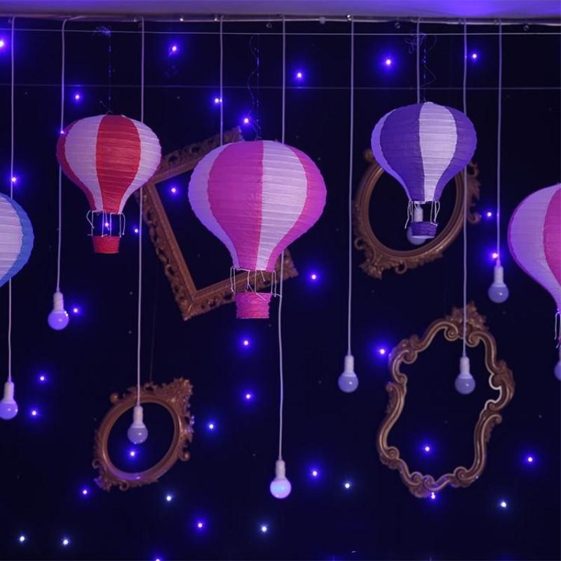 25cm = 10 pouces Hanging mariage arc-en-lanternes Montgolfières Lampion Birthday Party Décorations Livraison gratuite