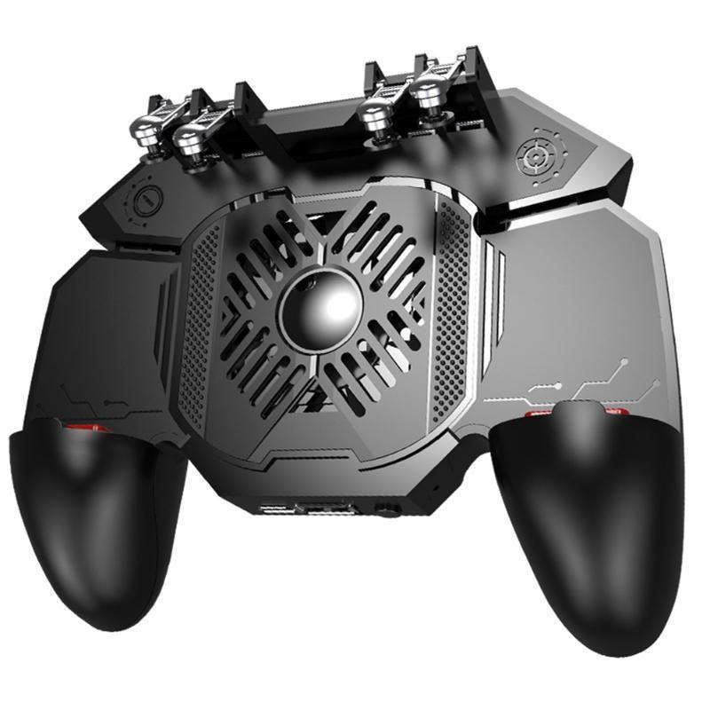6 doigts Accueil Manette Gamepad multifonction Dissipation thermique contrôleur de jeu du ventilateur de refroidissement Voyage d'étude pratique Rayonnant