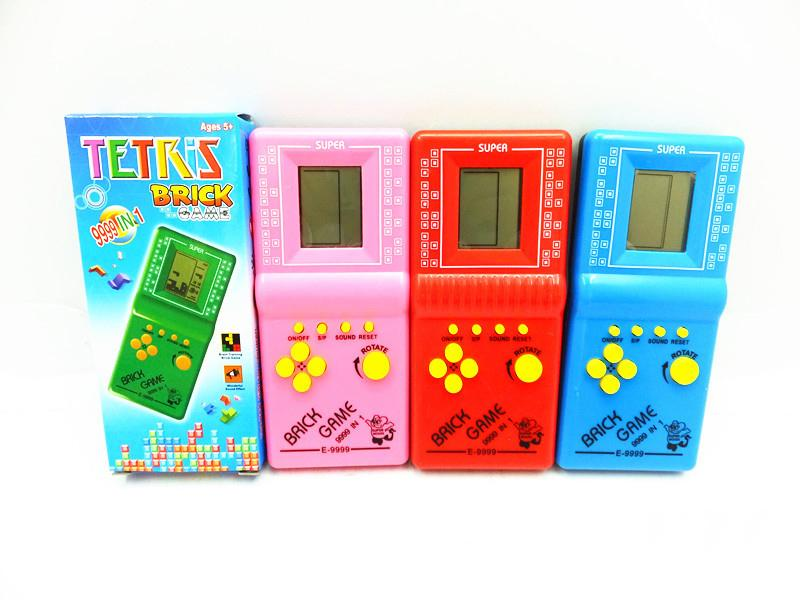 Children Classical Tetris Brick Game Console Gaming Players Retro Portable Tetris Handheld kids Brick Game With Box Package DHL