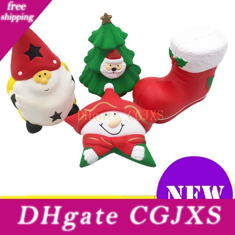 Squishy di Natale di stile di qualità Jumbo lento aumento morbido oversize Telefono Spremere Giocattoli sospensione Anti Stress Kid decompressione giocattolo del fumetto