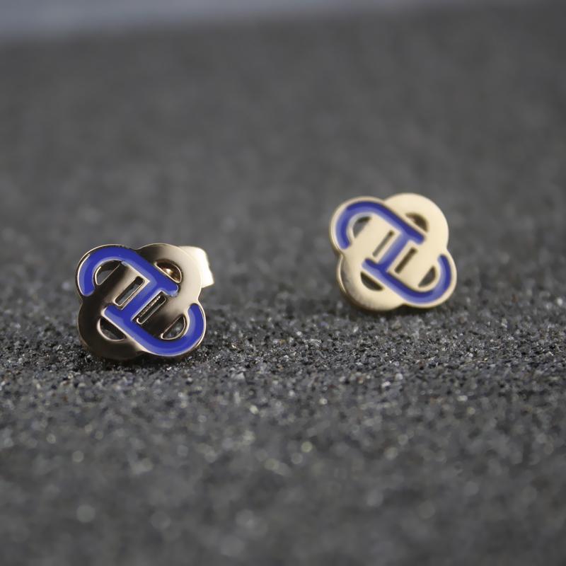 14k Gold Earring Women Clip On Earrings Nose Stud Women Valentine'S Day Gifts Jewelry