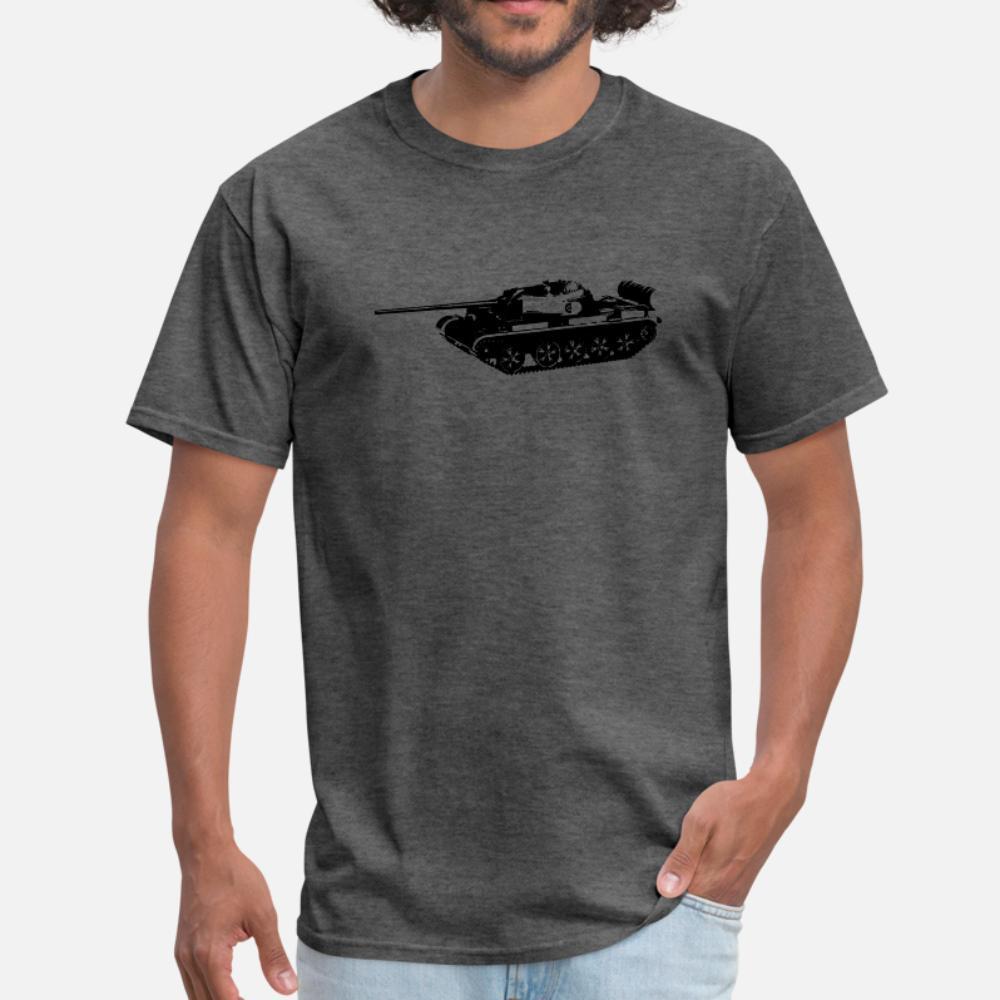 T 54 Ana Muharebe Tankı t gömlek erkekler Kısa Kollu S-XXXL Boş Grafik Casual İlkbahar Sonbahar Yenilik gömlek Tasarımları