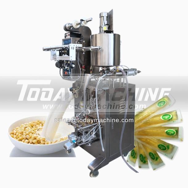Liquide chaud de vente automatique Machines d'emballage Purée de tomate Machine de conditionnement de sauce tomate