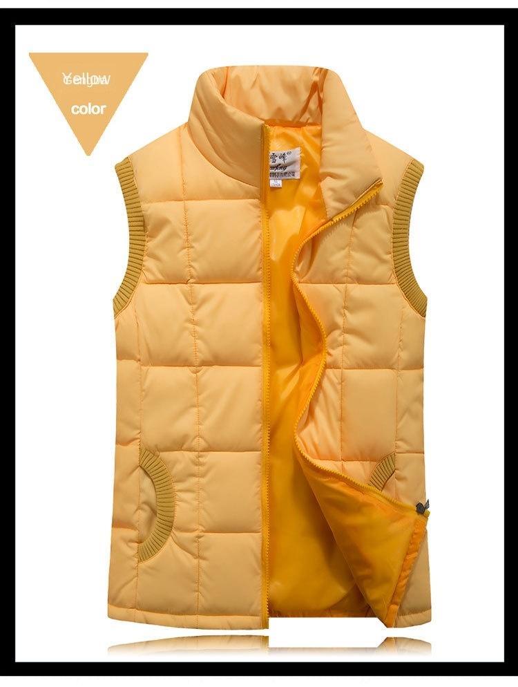 c7qgM fina ropa de algodón abajo chaleco de la ropa de las mujeres de talla grande chaleco de las mujeres delgadas