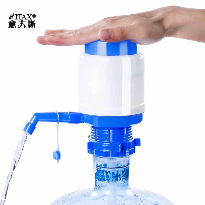 Distributeur manuel d'eau automatique pompe à pression de l'eau en bouteille froide du robinet chaud WD16