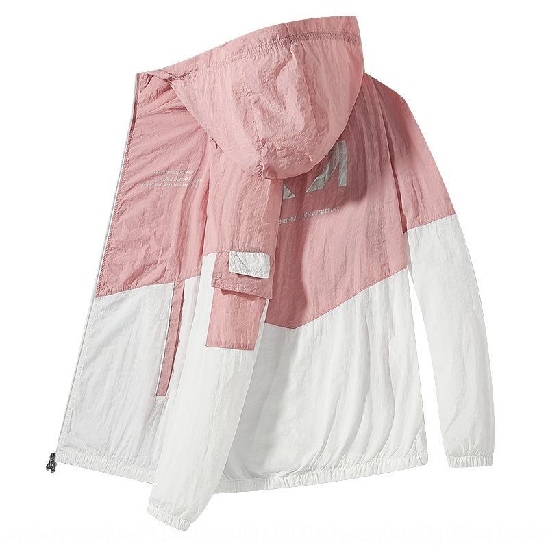 estate giacca vestiti cappotto traspirante estate ultra-sottile da uomo XS7Zy protezione solare sport sottili Windbreaker protezione solare ad asciugatura rapida vestiti skin wi