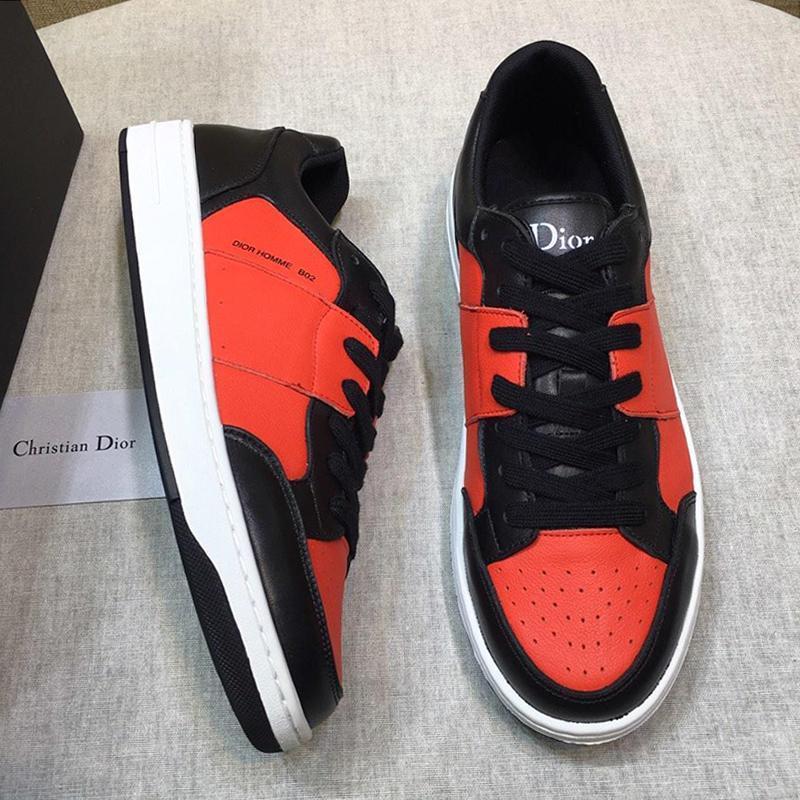 Shaspet Drop Ship bezerro B20 sapatilha Men '; s Shoes Scarpe Da Uomo respirável Low Top Lace -Up Luxo Shoes Moda Classic Skateb