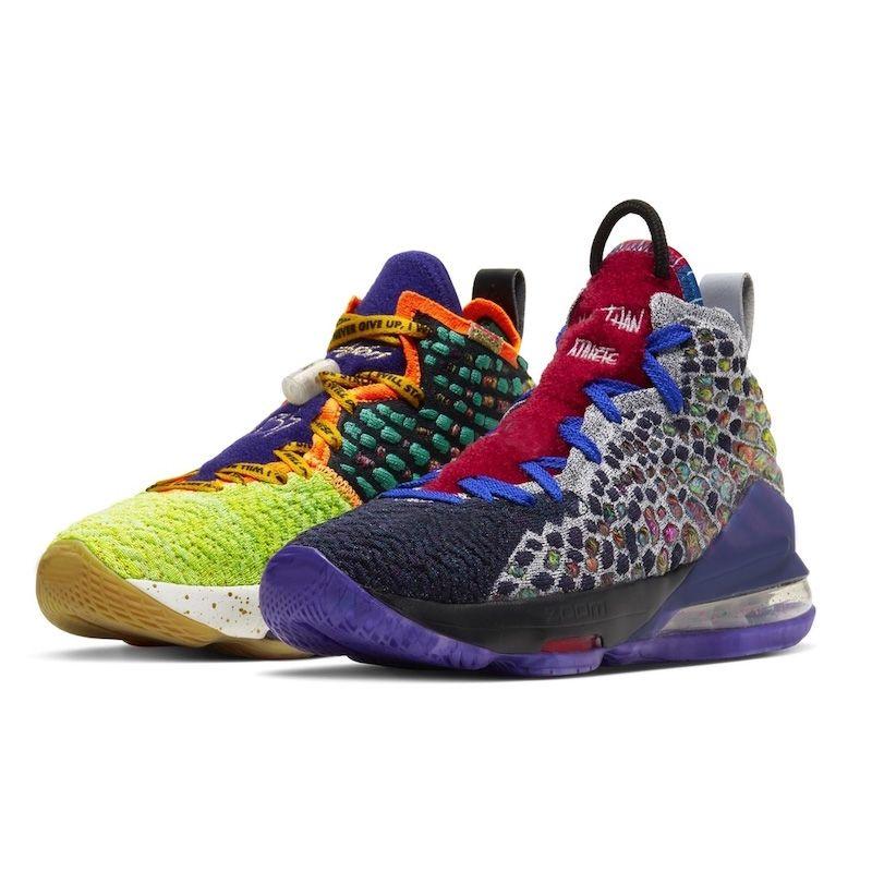 mens baratos novas LeBrons 17 XVII tênis de basquete EP para venda Coragem Que o Monstars eu prometo crianças sapatilhas das mulheres loja de sapatos de ténis